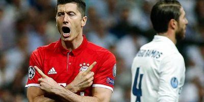 تمایل رئال مادرید به جذب لواندوفسکی